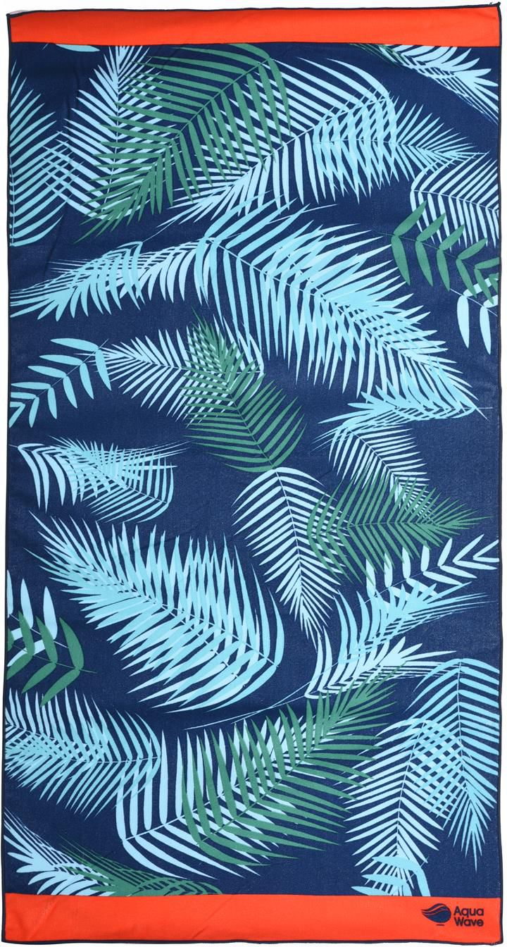 AQUAWAVE Ręcznik JUNGLE TOWEL BLACK JUNGLE PRINT