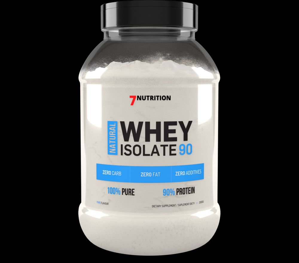 7 Nutrition Whey Isolate 90 banan 2kg