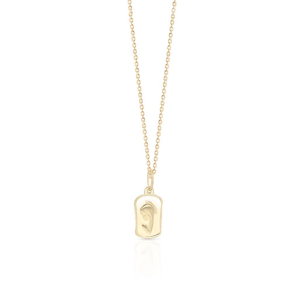 W.KRUK Piękny Wisiorek Złoty – złoto 585 – ZRU/WZ148