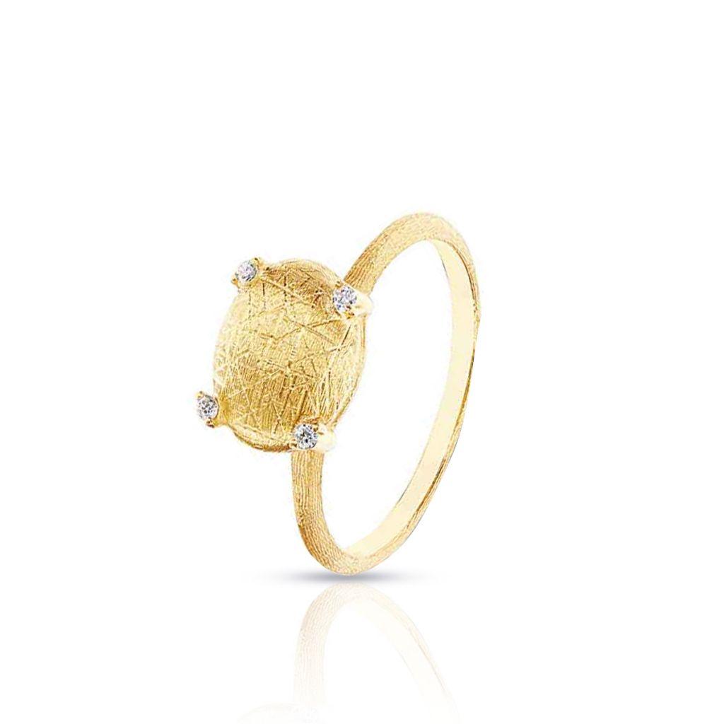 W.KRUK Pierścionek złoty Nanis – ZNA/PB+411