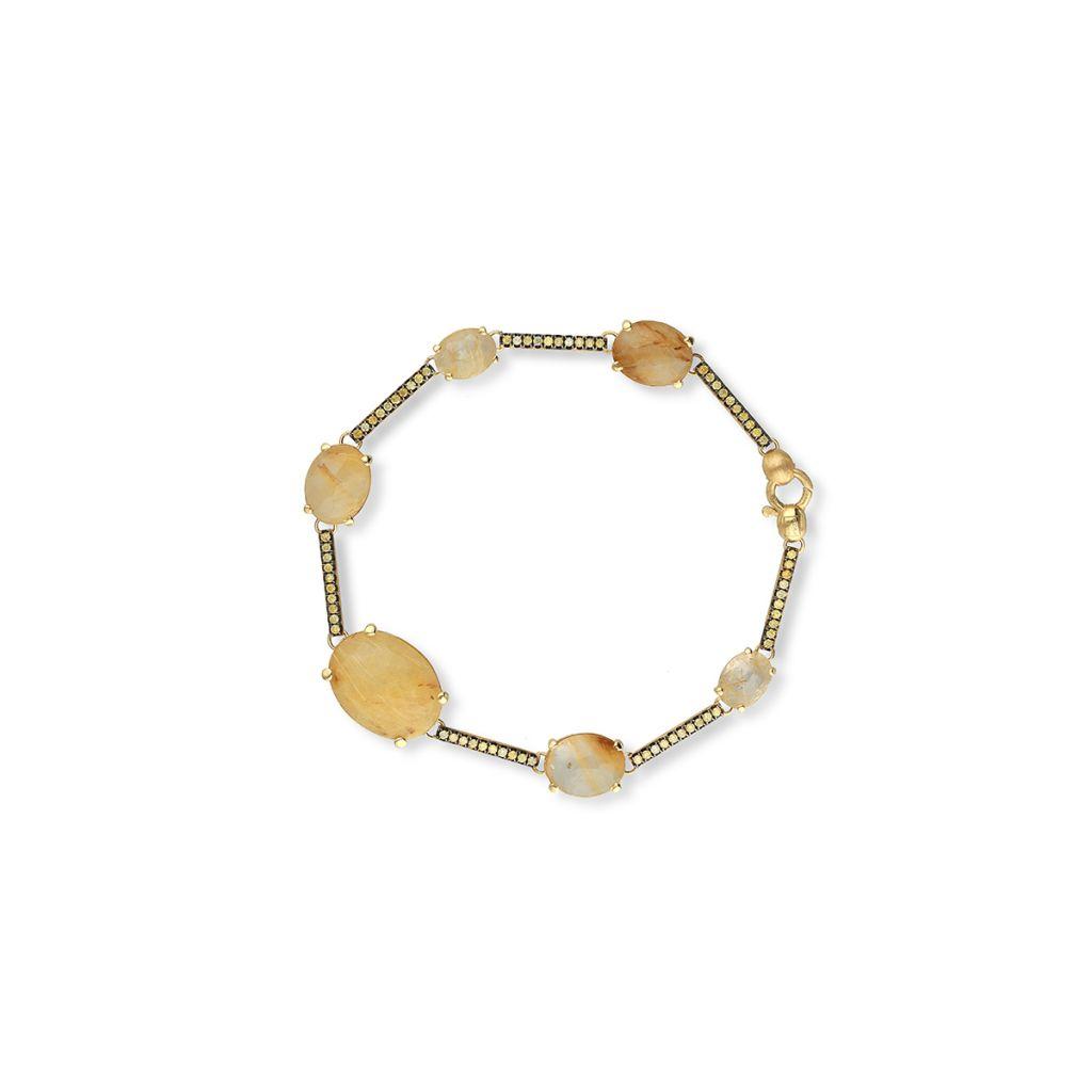 W.KRUK Bransoleta złota Nanis – ZNA/AB+253