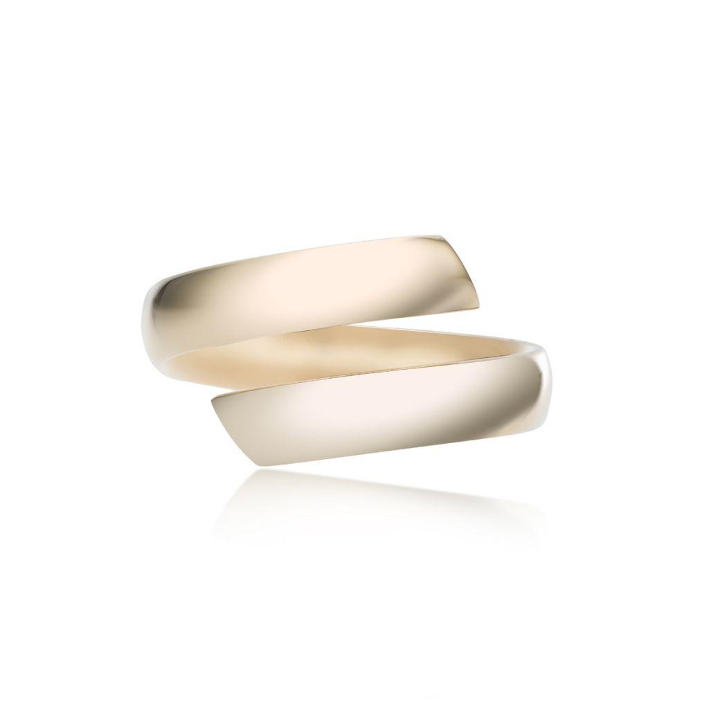 W.KRUK Zjawiskowy Złoty Pierścionek – złoto 375 – ZRH/PZ56