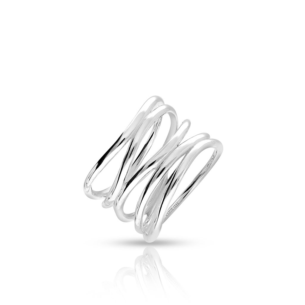 W.KRUK Wyjątkowy Srebrny Pierścionek – srebro 925 – SGR/PS107