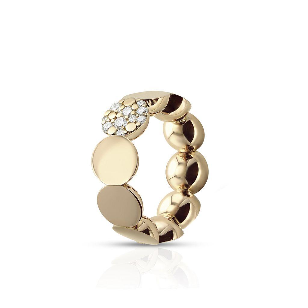 W.KRUK Pierścionek Złoty – złoto 750, Brylant 0,25ct – ZPB/PB+26R