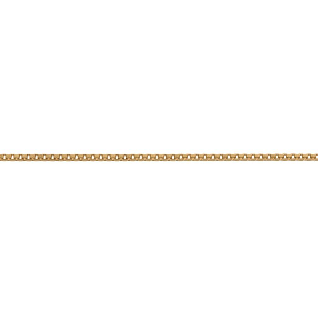 W.KRUK Zjawiskowy Złoty Łańcuszek – złoto 585 – ZSI/LB02