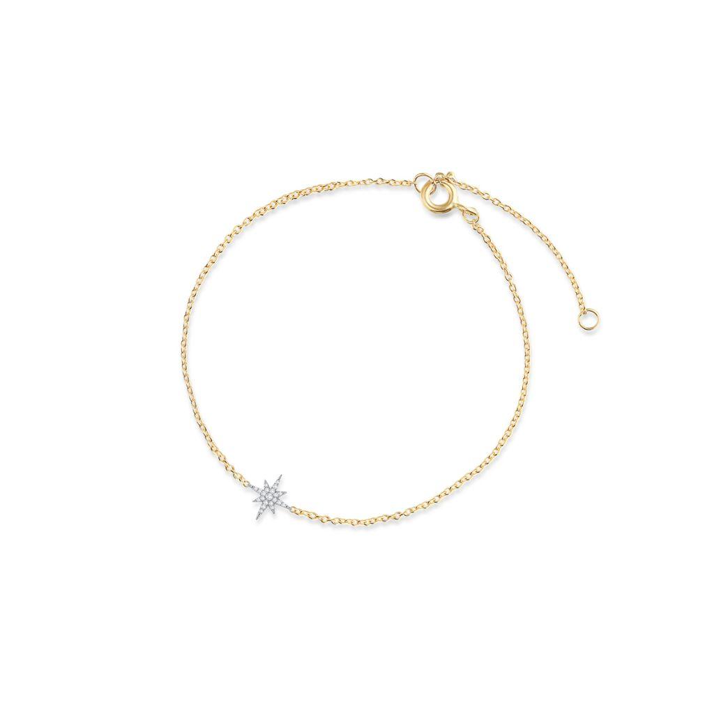 W.KRUK Wyjątkowa Bransoletka Złota – złoto 375, Diament 0,05ct – ZIN/AB+366K