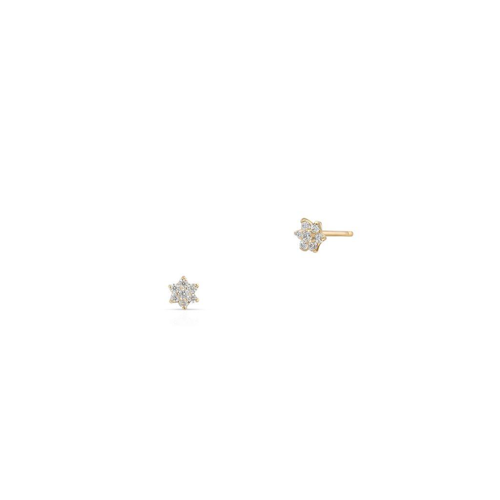 W.KRUK Kolczyki Złote – złoto 585 – ZID/KC33