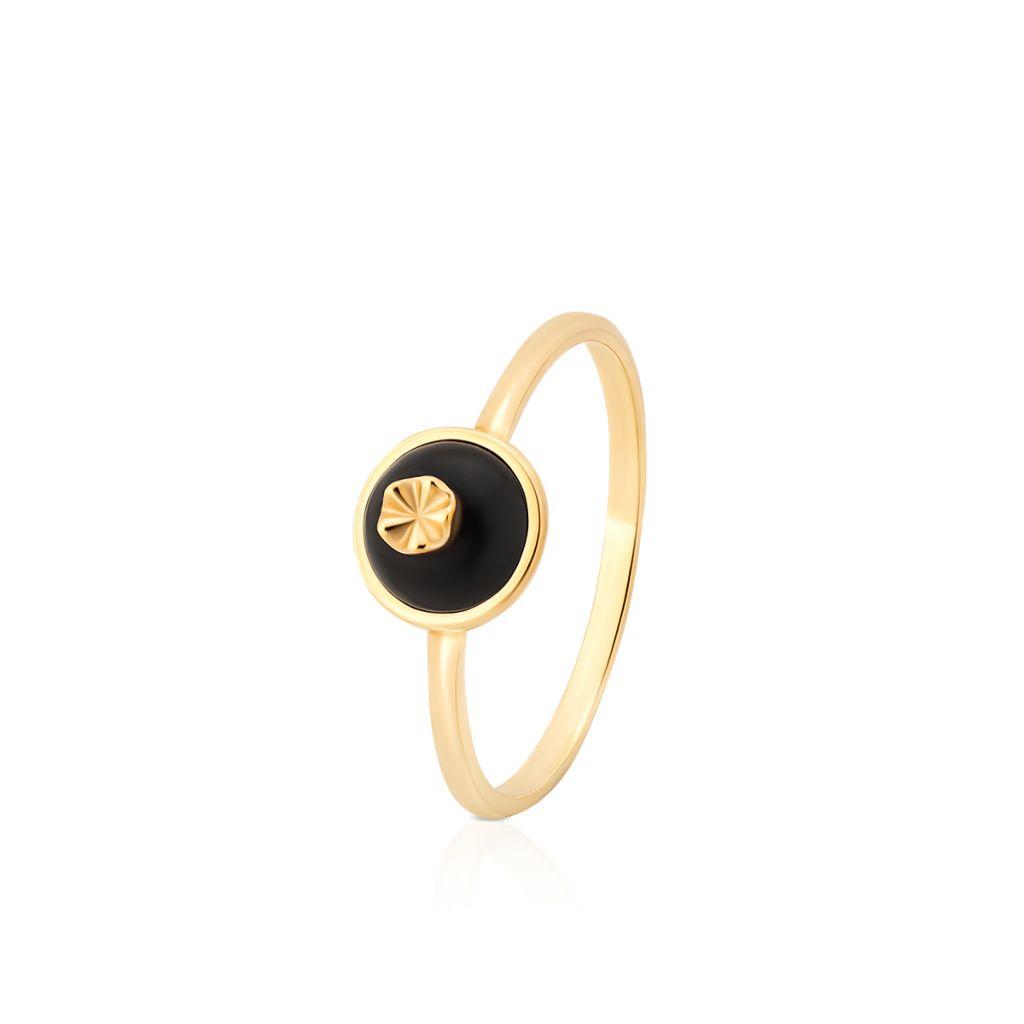 W.KRUK RABAT Pierścionek Złoty – złoto 375, Mineralit – ZPS/PW50