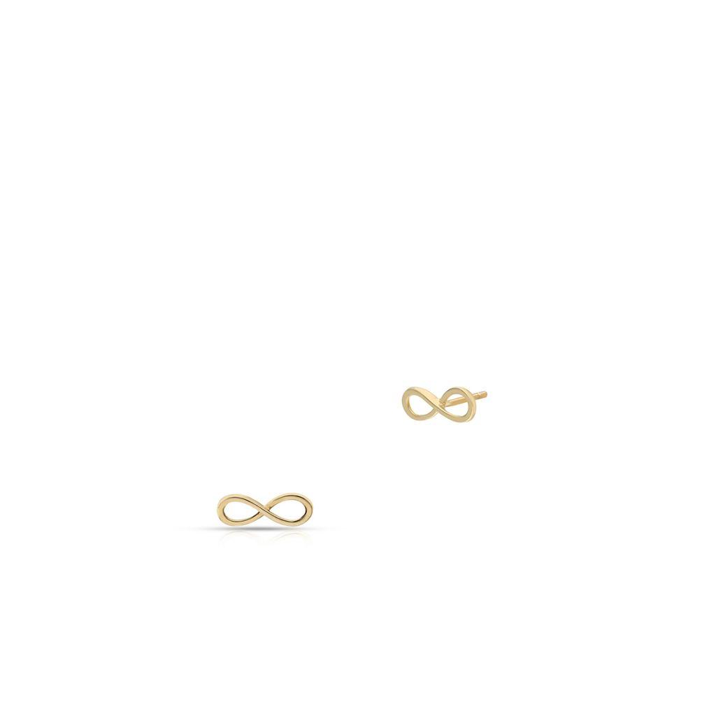 W.KRUK Unikalne Złote Kolczyki – złoto 375 – ZIH/KZ05