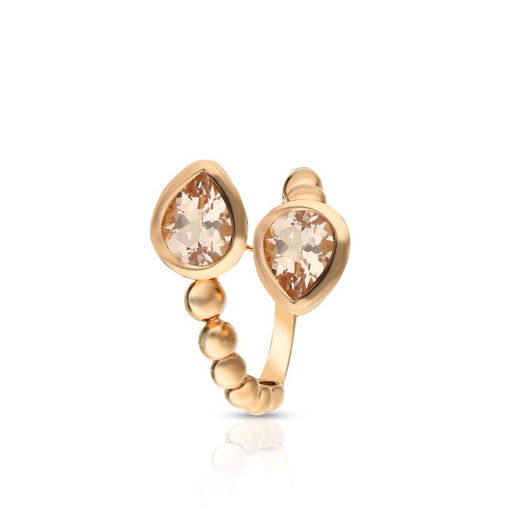 W.KRUK Pierścionek różowe złoto Casato – ZTT/PB+143R