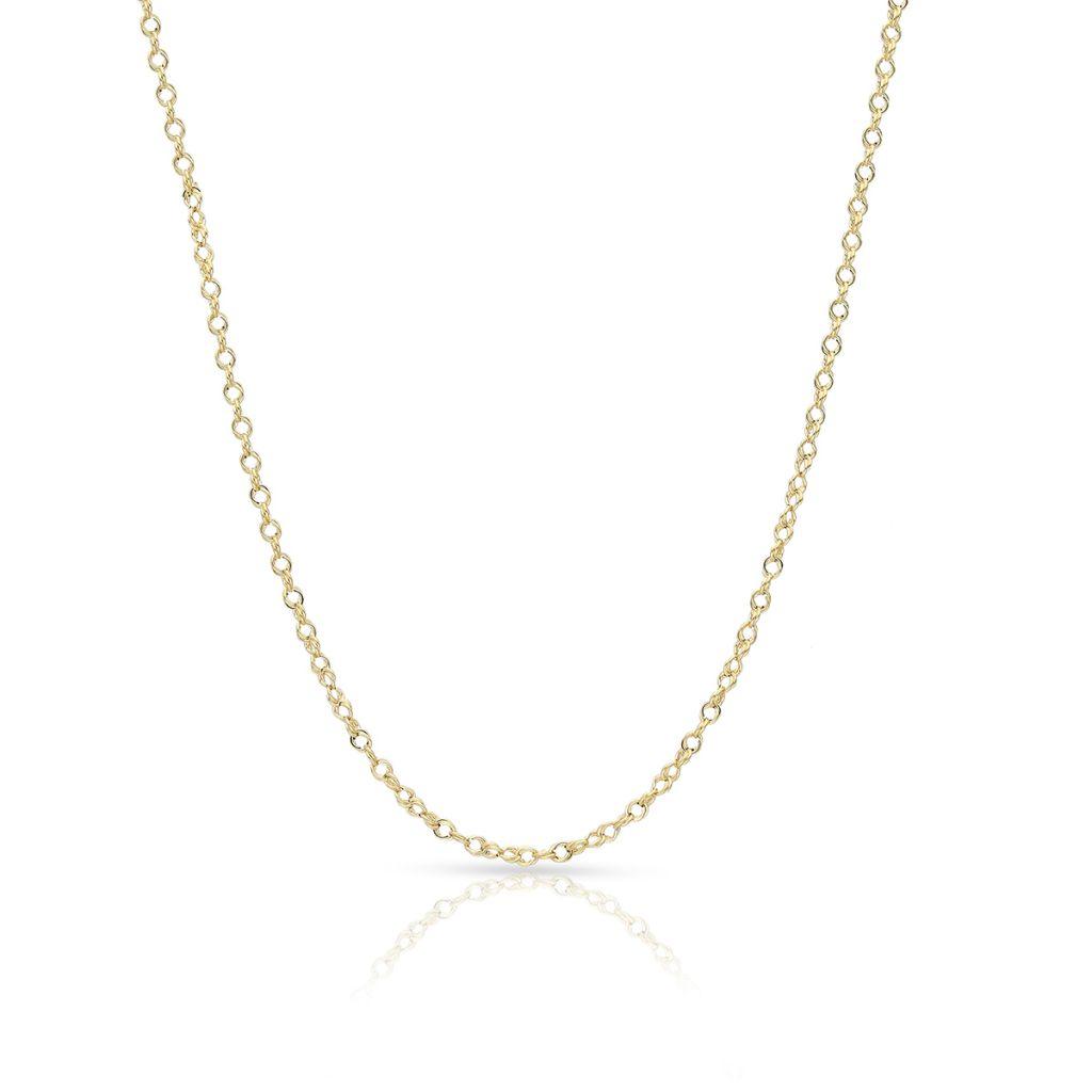 W.KRUK Wyjątkowy Łańcuszek Złoty – złoto 585 – ZUN/LG02