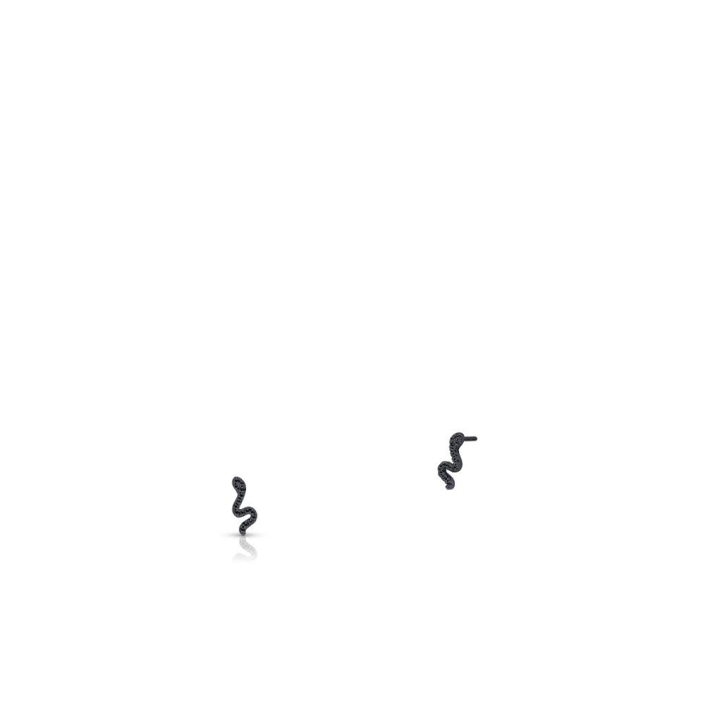 W.KRUK Wspaniałe Srebrne Kolczyki – srebro 925, Cyrkonia – SLB/KC120C