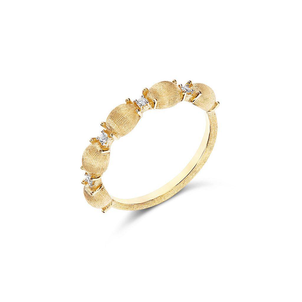 W.KRUK Pierścionek złoty Nanis – ZNA/PB+327