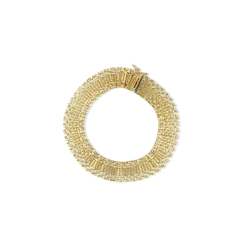 W.KRUK Piękna Bransoletka Złota – złoto 585 – ZAZ/AZ473