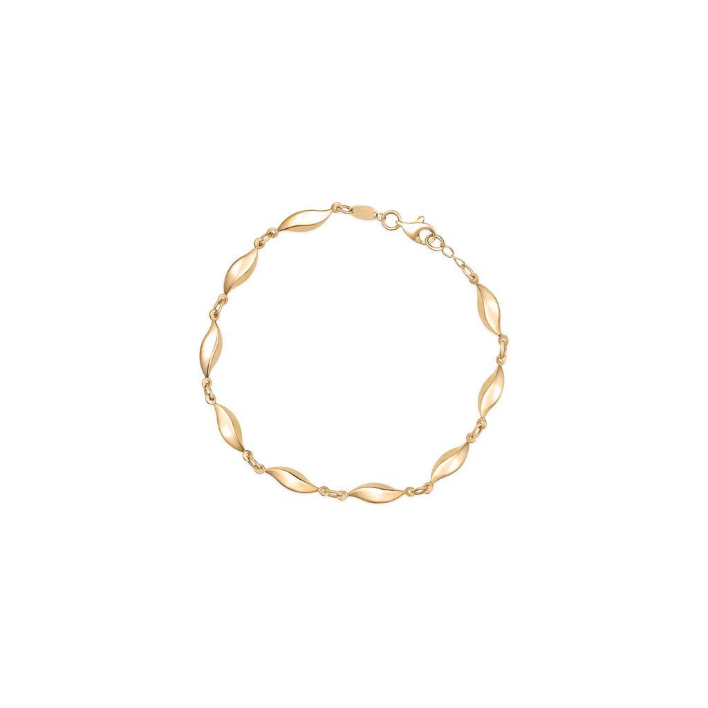W.KRUK Wspaniała Bransoletka Złota – złoto 585 – ZAZ/AZ419