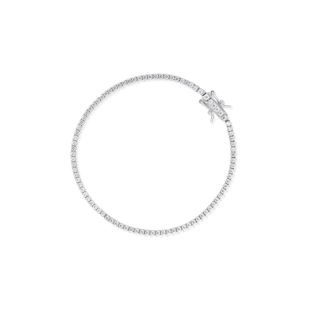 W.KRUK Bransoletka Srebrna – srebro 925, Cyrkonia – SHX/AC165
