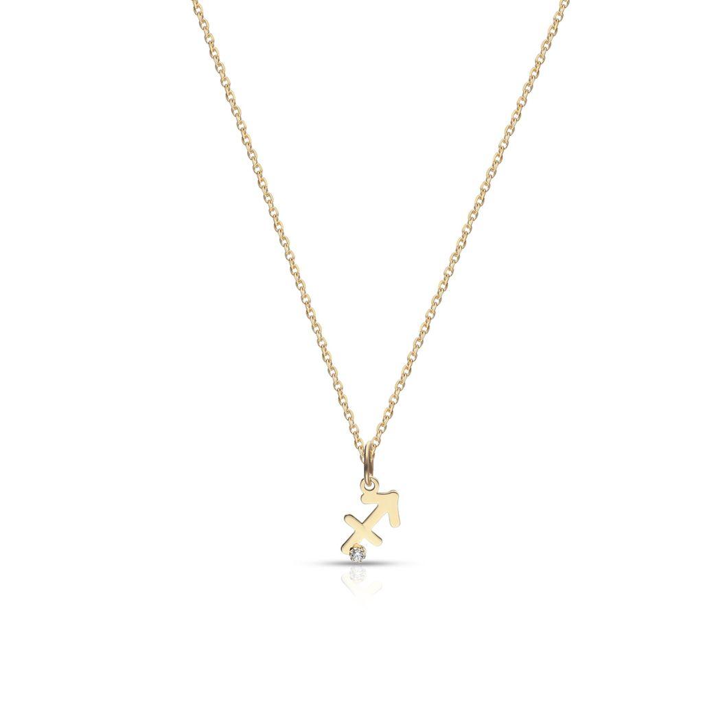 W.KRUK Wyjątkowy Wisiorek Złoty – złoto 375, Cyrkonia – ZUI/WC32