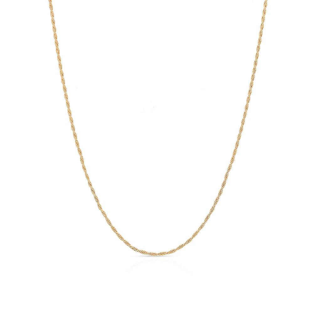 W.KRUK Wyjątkowy Łańcuszek Srebrny – srebro 925 – SCR/LS048Z