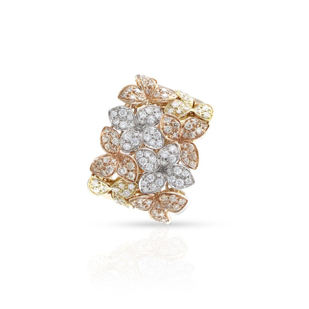 W.KRUK Złoty Pierścionek – złoto 750, Brylant 0,94ct – ZPB/PB+34BK