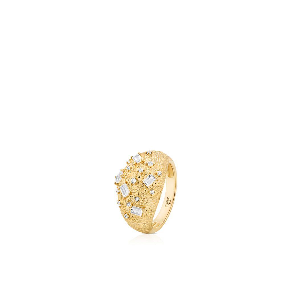 W.KRUK Wyjątkowy Pierścionek Złoty – złoto 585 – ZDL/PT12