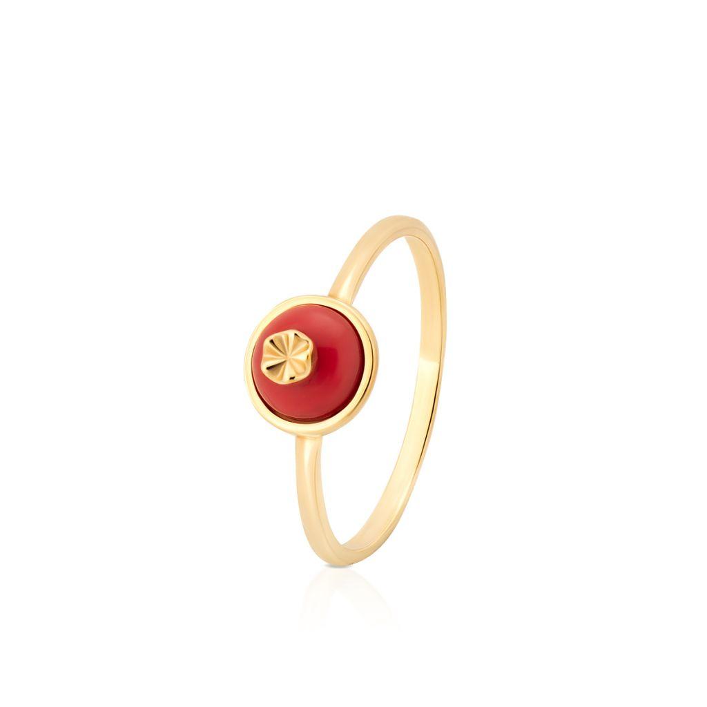 W.KRUK PROMOCJA Pierścionek Złoty – złoto 375, Mineralit – ZPS/PW51