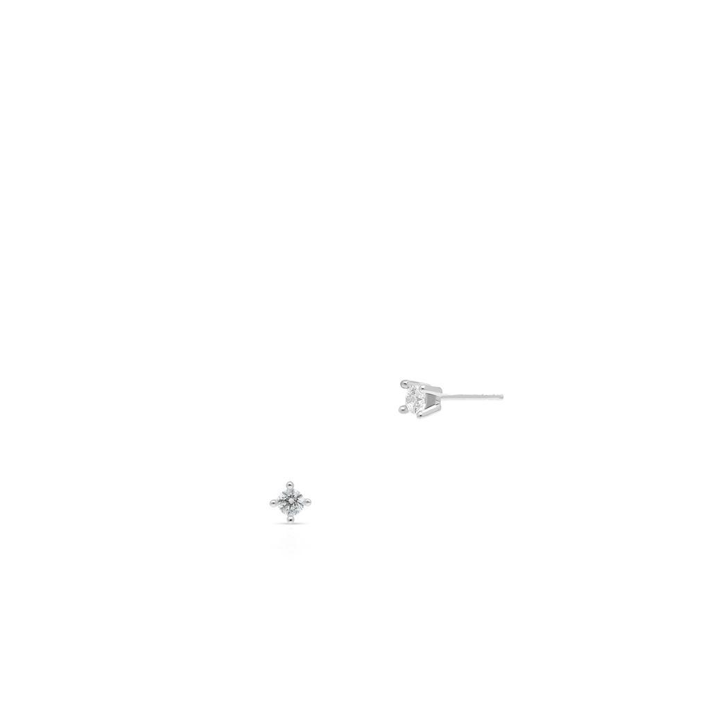 W.KRUK Kolczyki Złote – złoto 375, Cyrkonia – ZAZ/KC209B
