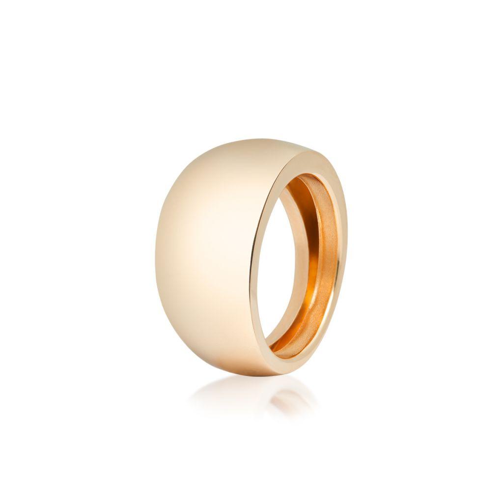 W.KRUK Wspaniały Złoty Pierścionek – złoto 585 – ZRH/PZ114
