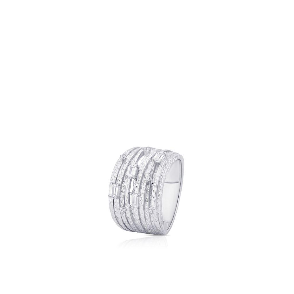 W.KRUK Wyjątkowy Pierścionek Srebrny – srebro 925, Cyrkonia – SDL/PC159