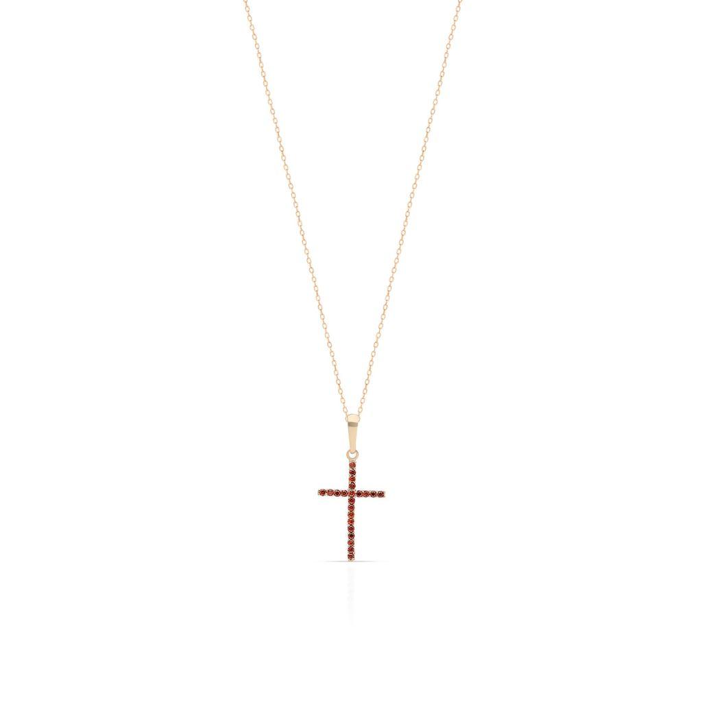 W.KRUK Unikalny Wisiorek Złoty – złoto 375, Cyrkonia – ZNN/WC144