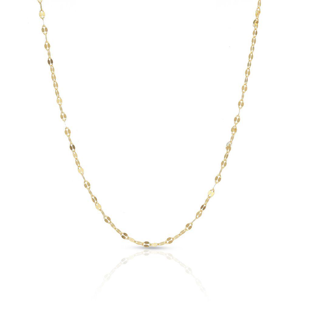 W.KRUK Piękny Złoty Łańcuszek – złoto 585 – ZUN/LG01