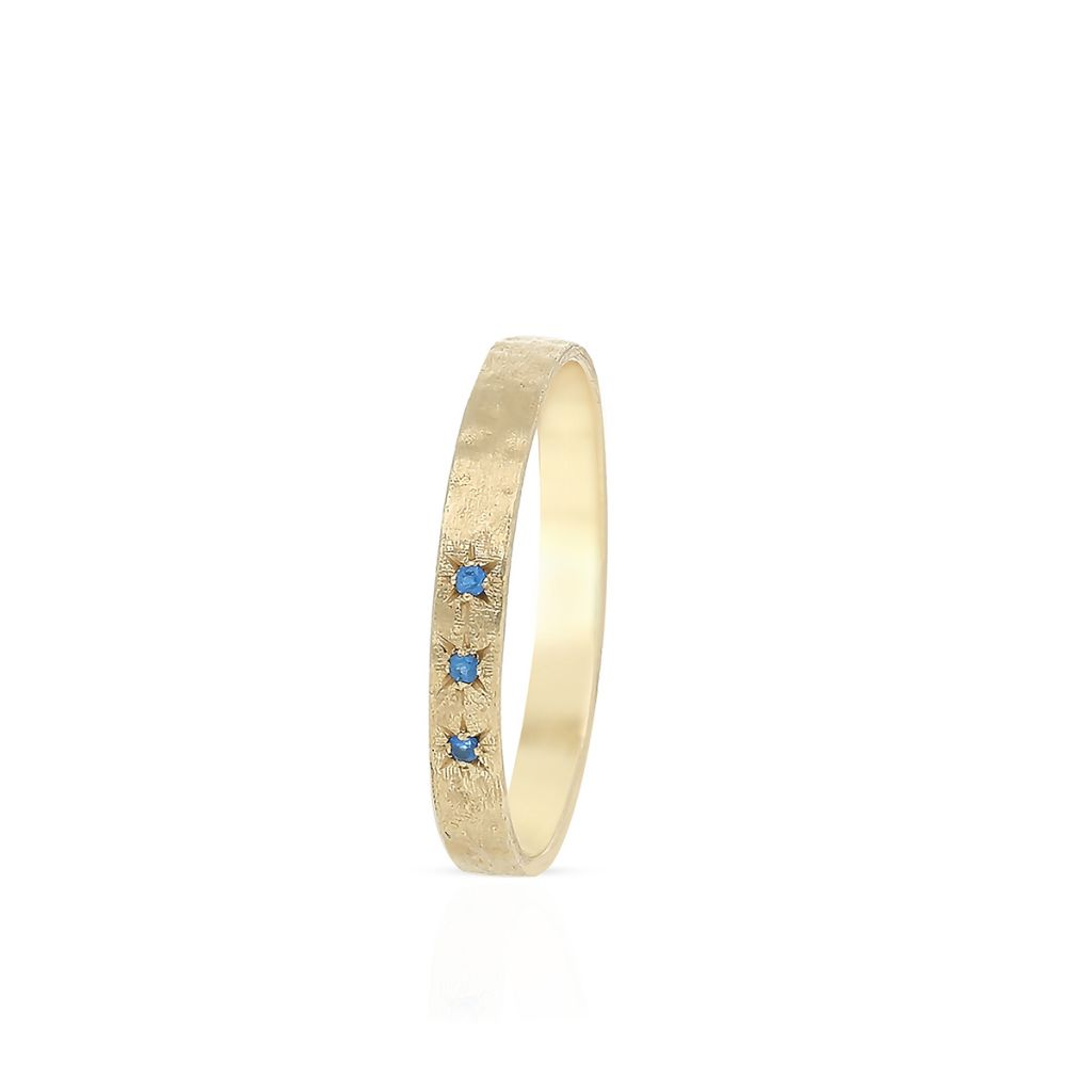 W.KRUK Piękny Złoty Pierścionek – złoto 375, Cyrkonia – ZTO/PC51