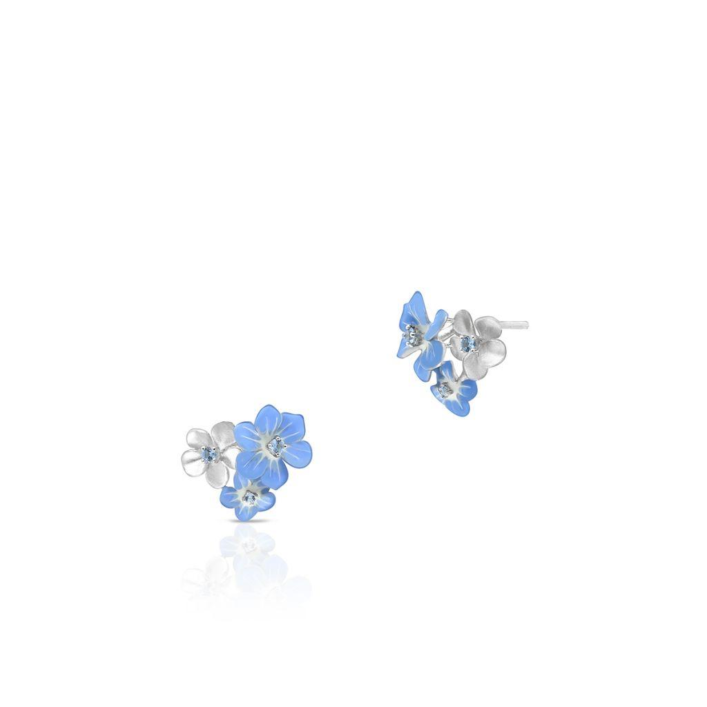 W.KRUK Kolczyki Srebrne – srebro 925, Cyrkonia – SDL/KC176