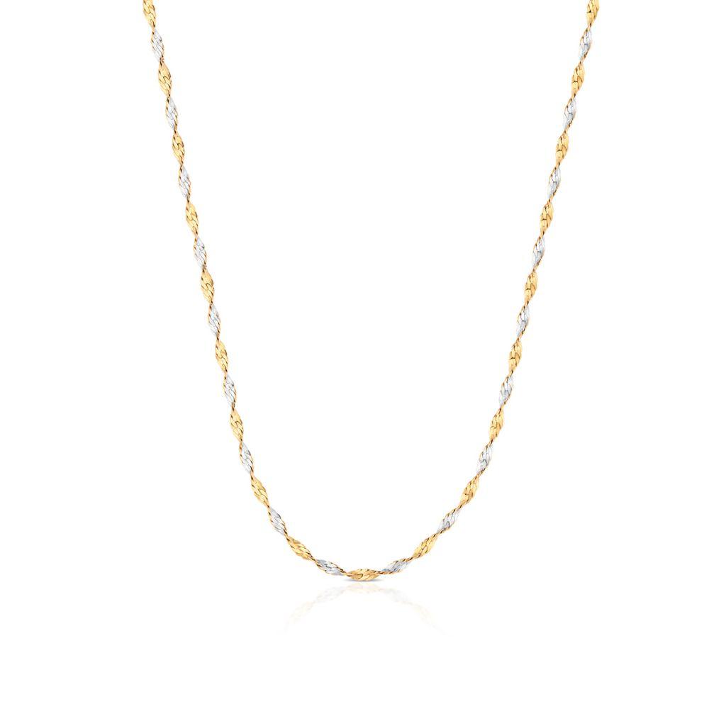 W.KRUK Zjawiskowy Złoty Łańcuszek – złoto 585 – ZVI/LS02BK