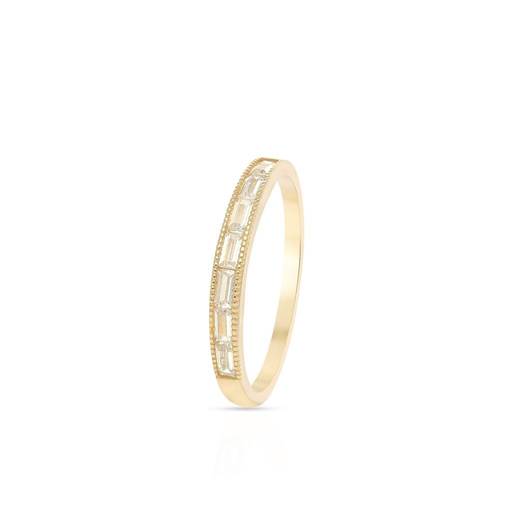 W.KRUK Unikalny Pierścionek Złoty – złoto 375, Cyrkonia – ZIO/PC130