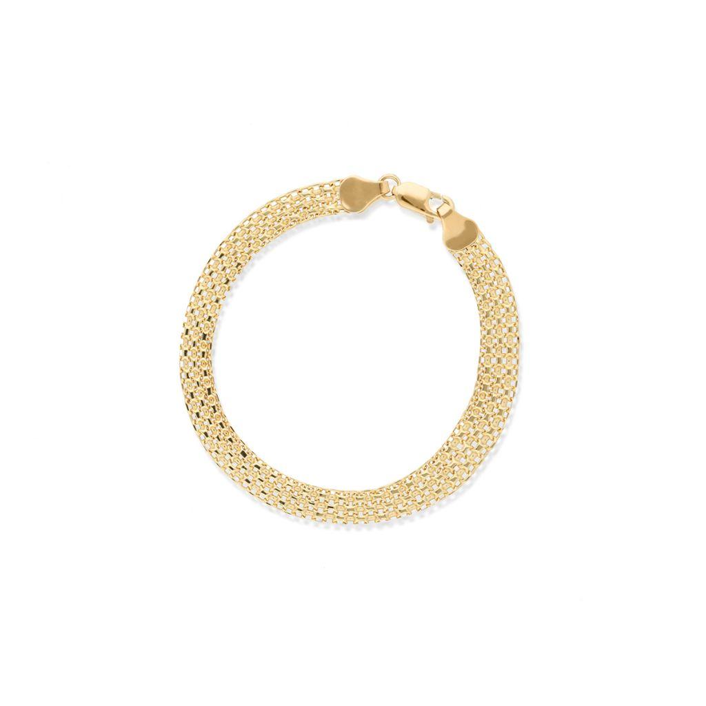 W.KRUK Zjawiskowa Złota Bransoletka – złoto 585 – ZSI/AC02