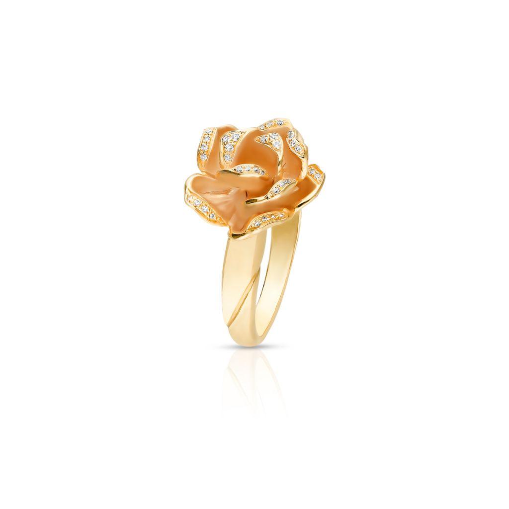 W.KRUK PROMOCJA Pierścionek różowe złoto ANNA MARIA CAMMILLI – ZMM/PB+106R