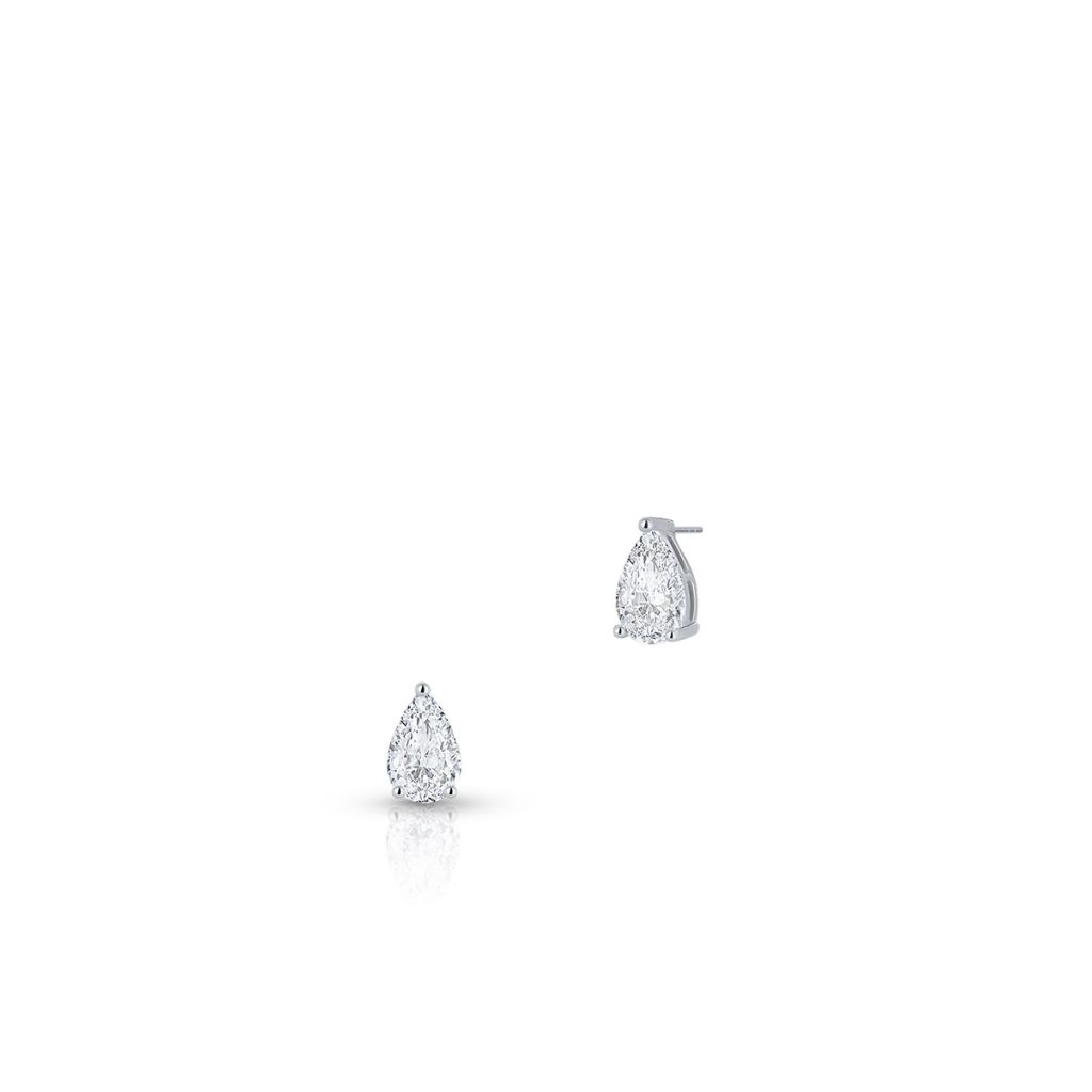 W.KRUK Piękne Kolczyki Srebrne – srebro 925, Cyrkonia – SLB/KC128