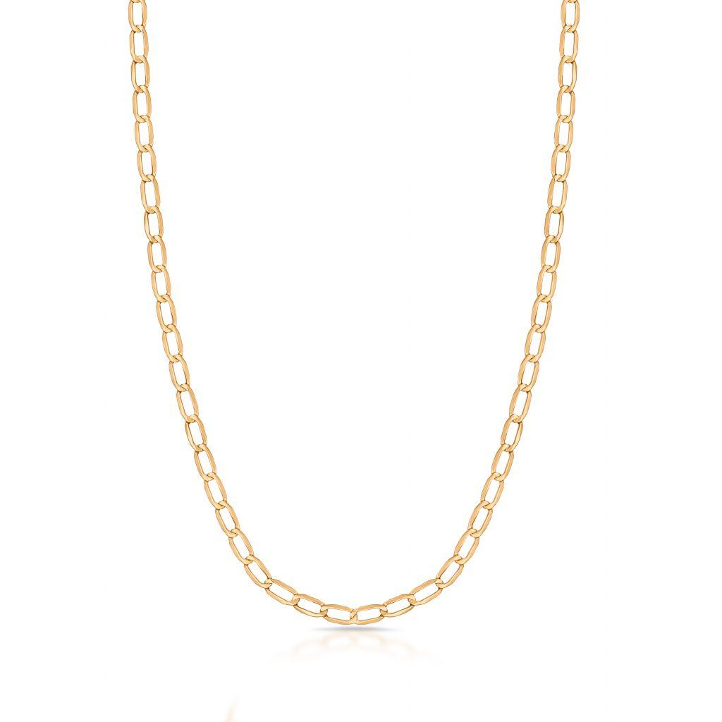 W.KRUK Piękny Łańcuszek Złoty – złoto 375 – ZUN/LP401