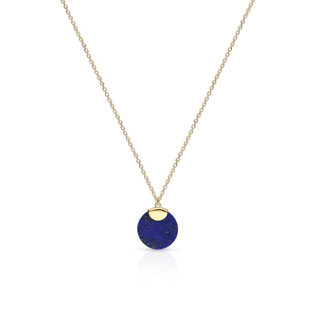 W.KRUK Wyjątkowy Naszyjnik – złoto 375, Lapis lazuli – ZTO/NW23