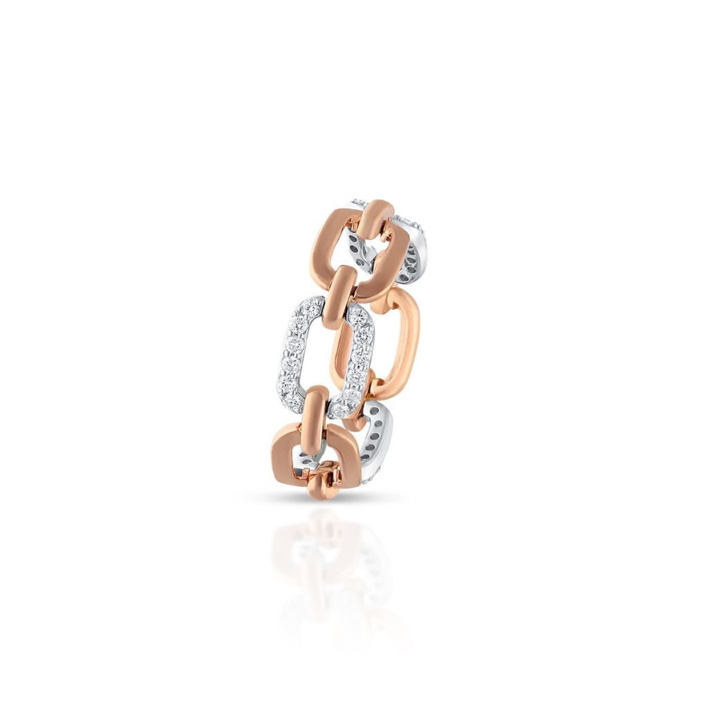 W.KRUK Piękny Pierścionek Złoty – złoto 585, Brylant 0,40ct – ZFT/PB+156K