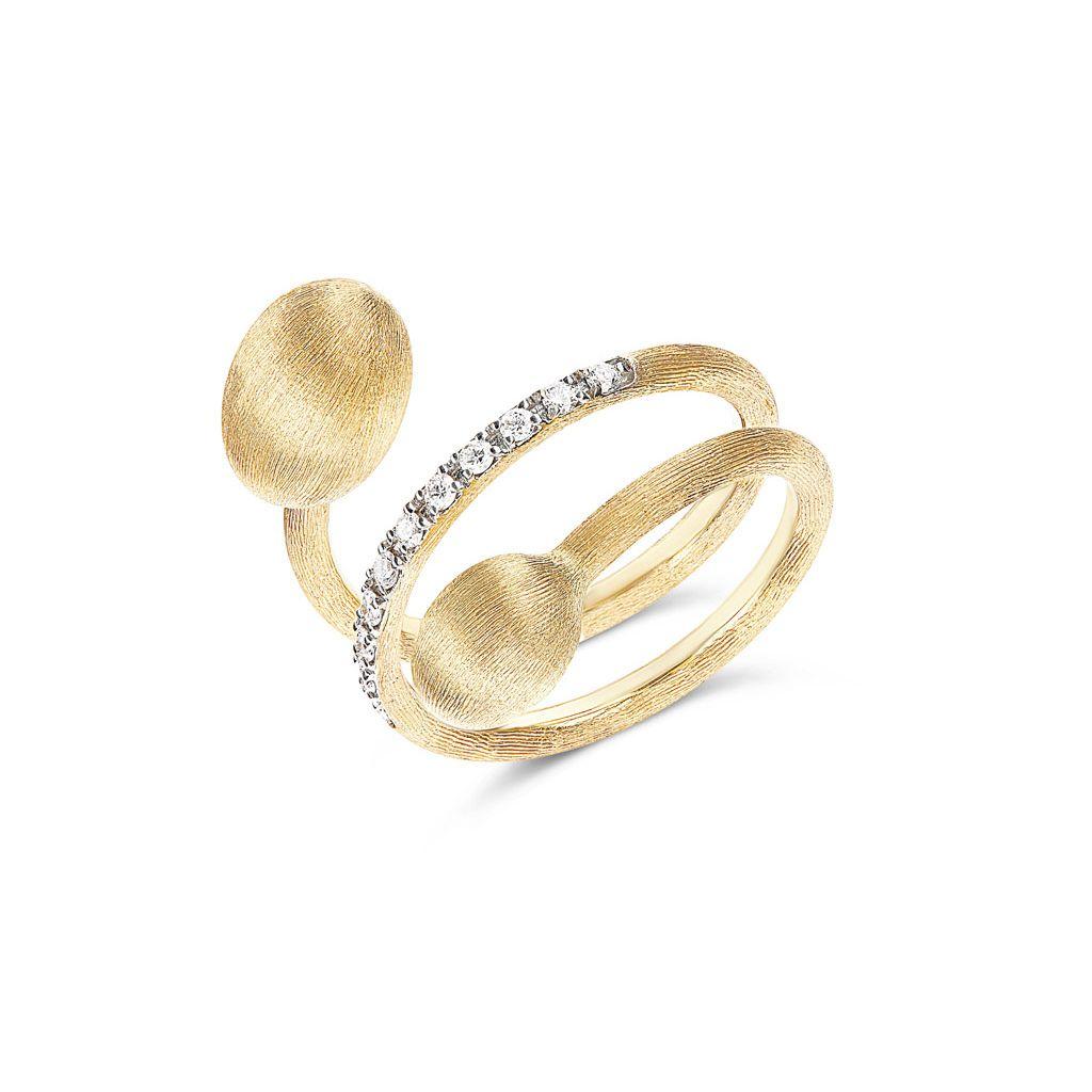 W.KRUK Pierścionek złoty Nanis – ZNA/PB+306