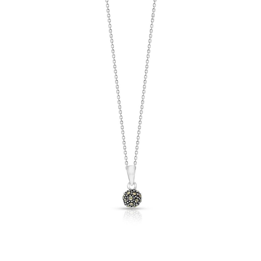 W.KRUK Wspaniały Srebrny Wisiorek – srebro 925, Markasyt – SVL/WS031