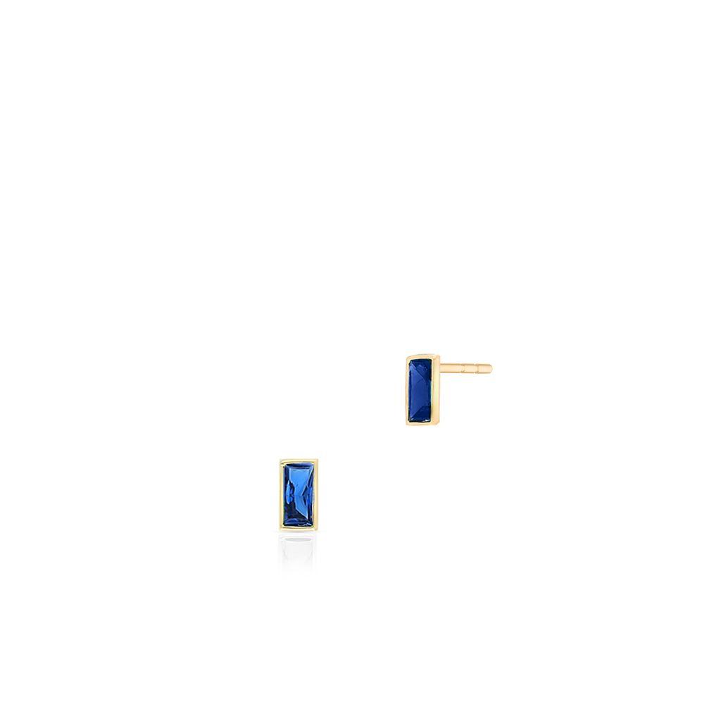W.KRUK Zjawiskowe Złote Kolczyki – złoto 375, Cyrkonia – ZTO/KC70