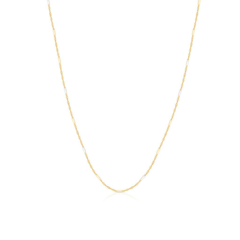 W.KRUK Łańcuszek Złoty – złoto 585 – ZVI/LS04BK