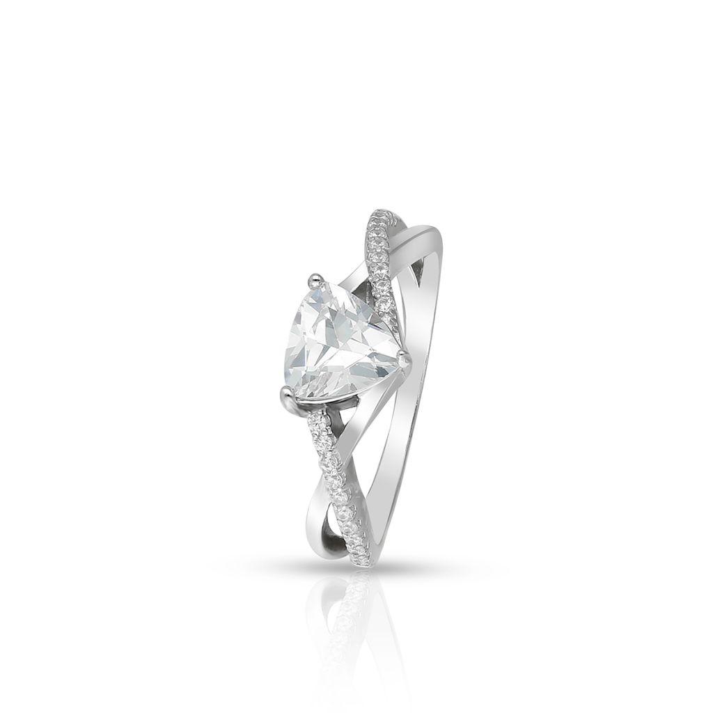 W.KRUK Pierścionek Srebrny – srebro 925, Cyrkonia – SJT/PC129