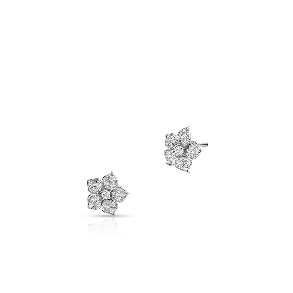 W.KRUK Piękne Kolczyki Srebrne – srebro 925, Cyrkonia – SDL/KC192