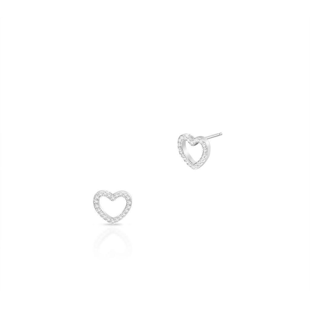 W.KRUK Wyjątkowe Kolczyki Srebrne – srebro 925, Cyrkonia – SJT/KC047