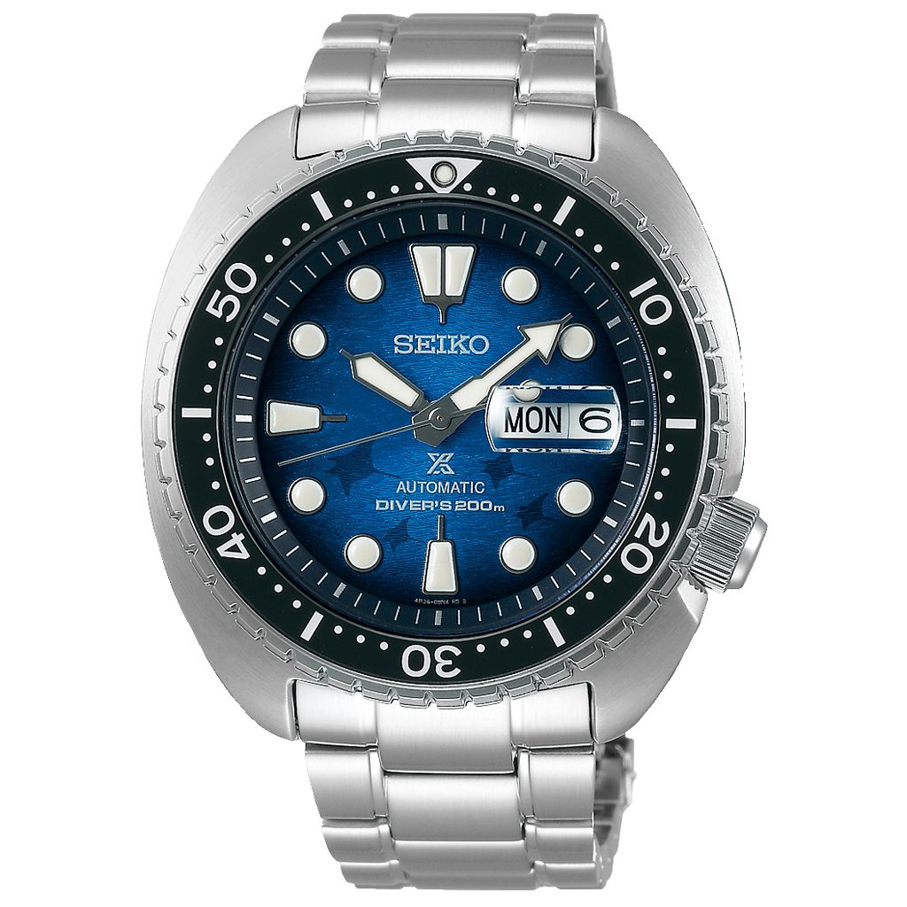 SEIKO PROMOCJA ZEGAREK Prospex Diver's King Turtle Save The Ocean Special Edition Automatic SRPE39K1