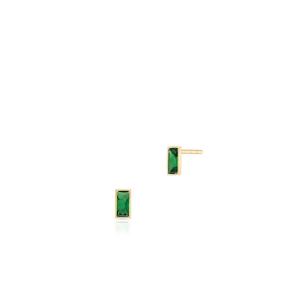 W.KRUK Kolczyki Złote – złoto 375, Cyrkonia – ZTO/KC71