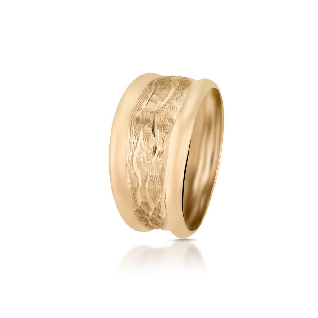 W.KRUK Piękny Pierścionek Złoty – złoto 585 – ZRH/PZ121